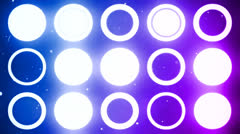 New generation led lights 16 - stock footage
