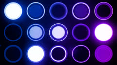 New generation led lights 17 - stock footage