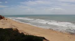 ALGARVE Praia St Eulalia A.mp4 Stock Footage