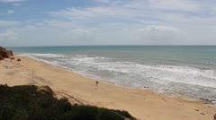 ALGARVE Praia St Eulalia B 25s.mp4 Stock Footage