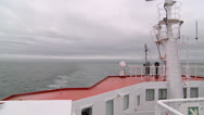 Stock Video Footage of Canada, Prince Edward Island, Charlottetown, Ferry Boat Astern 1
