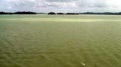 Gatun Lake - Panama Canal - High Definition Video Stock Footage