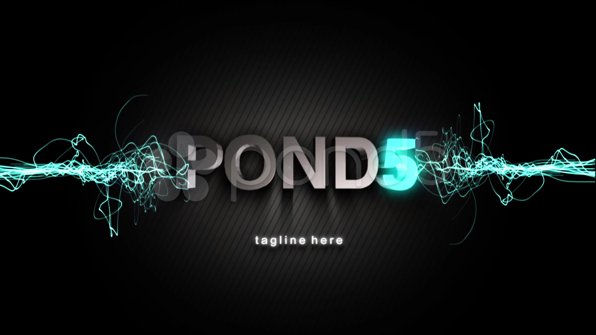After Effects Project - Pond5 Logo Reveal With Strings Particles 22709823