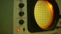 Moving old lab equipment Stock Footage
