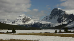 Canada, Canadian Rockies, Columbia Icefield 6 Stock Footage
