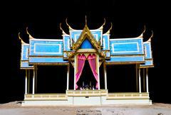 Pavilion in phraya nakorn cave,thailand Stock Photos