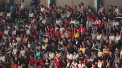 Fans Stock Footage