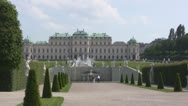 Stock Video Footage of Vienna Belvedere