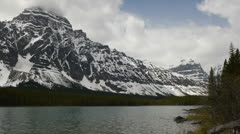 Canada, Canadian Rockies, Columbia Icefield 2 Stock Footage