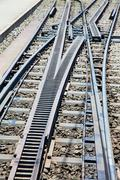 Cogwheel railway Stock Photos