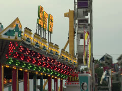Carnival Rides - stock footage