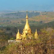 Golden stupa Stock Photos