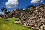 Stock Photo of ancient maya city of ek balam, yucatan, mexico