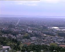 GREECE Thessaloniki panorama Stock Footage