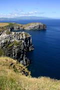Azores coast at sao miguel Stock Photos