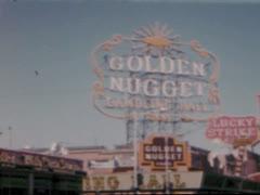 Las Vegas Strip - 1961 Stock Footage