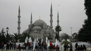 Stock Video Footage of Blue Mosque in Istanbul, Turkey