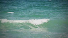 Rolling waves - stock footage