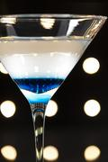 cocktails on the dance floor - stock photo