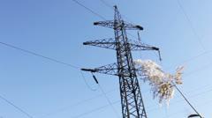Mast lines. Stock Footage