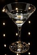 martinis on the dance floor - stock photo