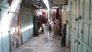 Old town . Jerusalem Stock Footage