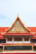Building of buddha style. Stock Photos