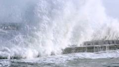 Breakwater Stock Footage