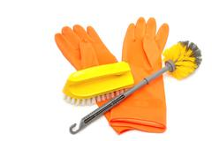 Set of cleaning products,clean tool Stock Photos