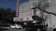 Stock Video Footage of Historic Savannah Theatre- Georgia