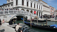 Stock Video Footage of gondolas in venice
