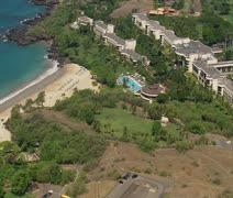 Hapuna Beach Prince Hotel Stock Footage