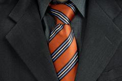 red tie - stock photo