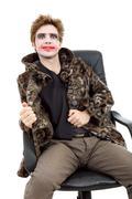 joker - stock photo