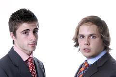 business men - stock photo