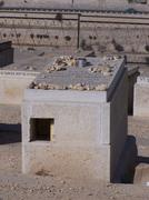 Burial tomb on the Mt, of Olives Stock Photos