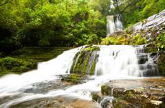 mclean falls - stock photo