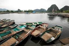 Ninh binh hanoi vietnam Stock Photos