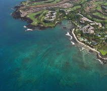 Hilton Waikoloa Village Resort Stock Footage