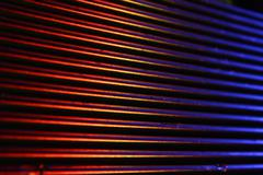 background red and blue as hot and cold - stock photo