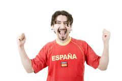 Stock Photo of spanish fan