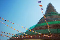 Pagoda in thailand Stock Photos
