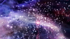 Space intergalactic nova nebula - stock footage