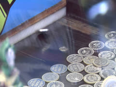 Carnival Coin Push Game - stock footage