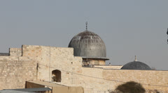 Al-Aqsa Mosque. Jerusalem Stock Footage