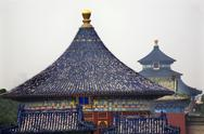 Stock Photo of imperial vault in front of prayer hall temple of heaven beijing