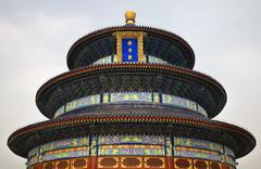 Temple of heaven beijing china Stock Photos