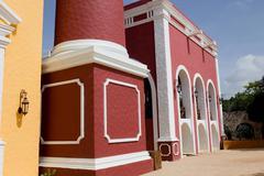 hacienda henequenera - stock photo