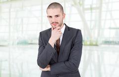 businessman - stock photo