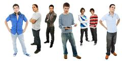 Stock Photo of men group